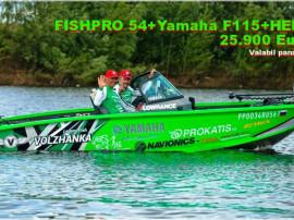 Pachet barci aluminiu VBoats cu Yamaha si sonare Helix