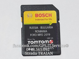 Card SD Nou Original Navigație Ford MFD Focus Kuga 2019