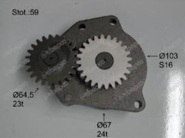 Pompa ulei tractor Case-IH 3942723, 3948072,