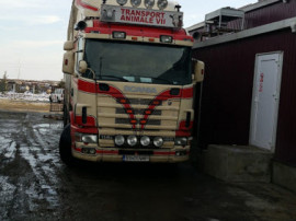 Cap tractor Scania 1141-460 SV-01-NMP
