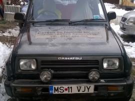 Daihatsu Feroza - Benzina + GPL - Volan pe dreapta