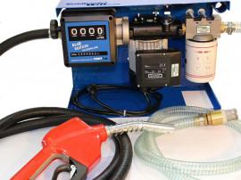 Pompa de transfer motorina cu contor
