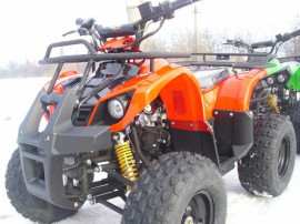 ATV Grizzly 125cc NOU Cu garantie-Casca,Import German