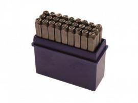 Set de poansoane cu litere 8mm, Produs nou cu garantie