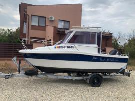 Barca marlin 560 fisher cu suzuki 115cp