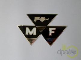 Emblema tractor Massey Ferguson