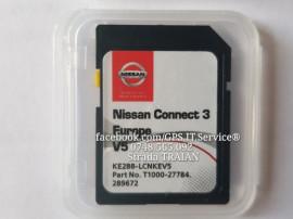 Card SD Original NOU Navigatie Nissan Conect 3 LCN 3 Europa