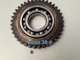 Pinioane cositoare Vicon 38 d