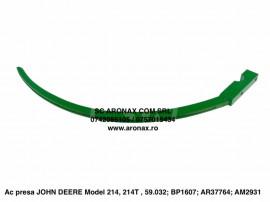 Ac presa JOHN DEERE Model 214, 214T , 59.032; BP1607; AR3776