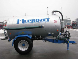 Cisterna vidanja Meprozet model PN, 2.300 - 10.000 litri