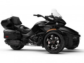SPYDER Can-Am Spyder F3 Limited SE6 Steel Black Metallic