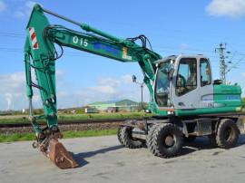 Excavator pe roti Fiat Kobelco E175W