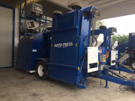 Presa cu motor Roto-Press Europe TRC300