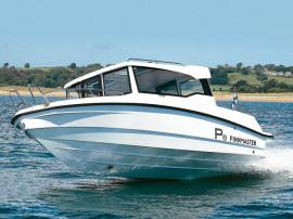 Barca Finnmaster P6 cu Yamaha F150 DETX EFI si peridoc Respo