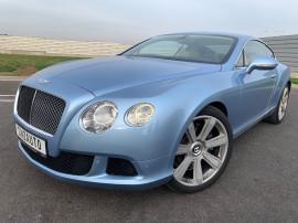 Bentley Continental GT 6.0i W12 4x4 cp-575 2013