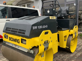 Cilindru Compactor BOMAG BW 120 AD-3 Anul fabricatiei 2002