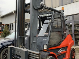 Stivuitor - Motostivuitor Linde H80D 396 Anul fab. 2011