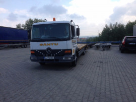 Camion transport auto/utilaje/tractari Mercedes Atego 817