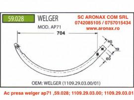 Ac presa welger ap71 ,59.028; 1109.29.03.00; 1109.29.03.01
