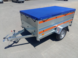 Remorca Tema 750 kg -rar efectuat noua - garantie