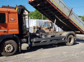 Camion  macara MAN3
