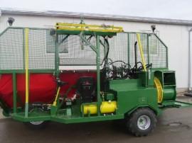 Masina pentru recoltarea, curatarea si ambalarea fructelor