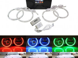 Kit RGB Led Angel Eyes compatibil BMW seria 3 E46
