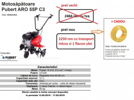 Motosapa pubert Franta ARO 55P C3 cadou client