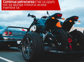 Remorcare, tractare moto, enduro, sport, offroad (KTM,Honda)