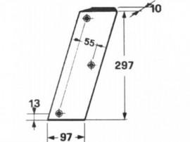 Cutit piston Balotiera CLAAS MARKANT 50 ;807412