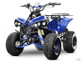 Atv electric nitro eco warrior 1000w 48v s8 quad #blue