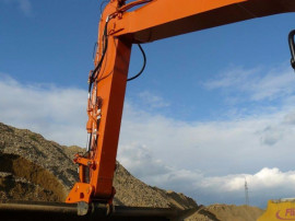Braț excavare buldoexcavator, excavator, tractor.