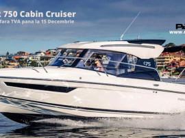 Promo toamna barci Parker 750 Cabin Cruiser cu Mercury F200