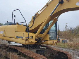 Dezmembrez Excavator pe senile Komatsu PC210 , motor , pompa