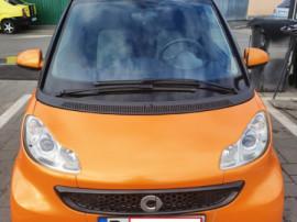 Smart ForTwo portocaliu, 2012, euro 5, înmatriculat