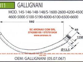 Ac presa Gallignani 59.011; 05.07.067, Model 145, 146, 148/