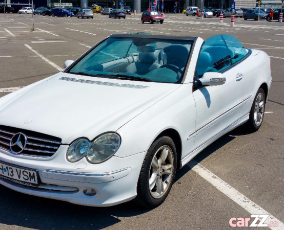 mercedes clk cabrio w209 facelift eur. Black Bedroom Furniture Sets. Home Design Ideas