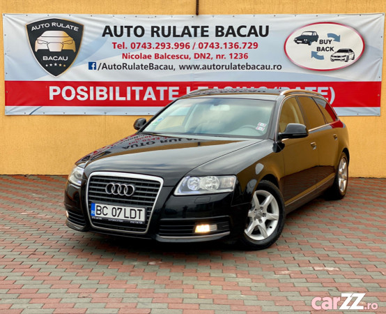 Audi A6 2.0 Diesel Euro 5 2009 Webasto Clima Navi