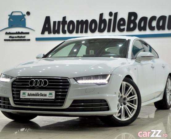 Audi a7 3.0 tdi v6 quattro s-line 218 cp 2015 automata euro