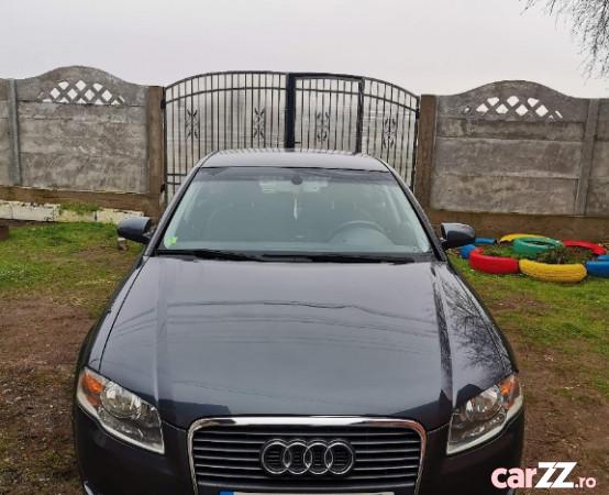 """Audi A4 B7 1.9 TDI (116 CP fără filtru de particule) Audi A4 B7 1.9 TDI (116 CP fără filtru de particule) 2006  adusă recent din Franța, se pot verifica accidentele și km mașinii (apăsând butonul """"Verifică""""), cutie de viteză Manuala, Euro 4. Oferit de Persoană fizică."""
